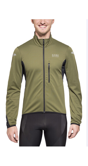 GORE BIKE WEAR ELEMENT WS SO Jacket Men ivy green/black